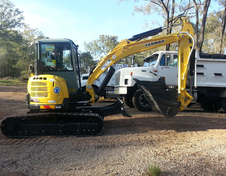 Yanmar excavator 5T - Prograde Excavations